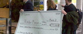 Return Kinder Morgan's donations