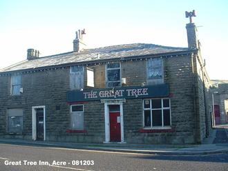 Save the great tree pub, Acre from demolition