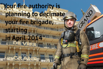 Save Brighton & Hove City Fire Fighters