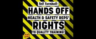 Get your hands off our rights to quality training!