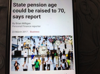Stop the Government raising the nations pension age.