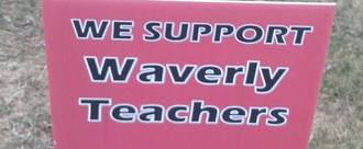Give Waverly teachers a FAIR contract, NOW