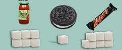 Reduction of sugar content is wrongly worded