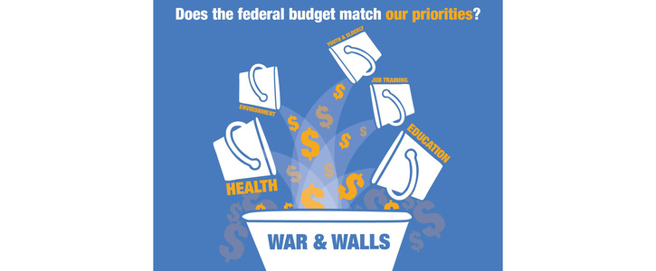 Tell Congress- Education Not Walls with Our Tax Dollars