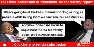 Send a message to the Fees Commission*