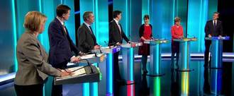 Make May appear in GE TV Debates