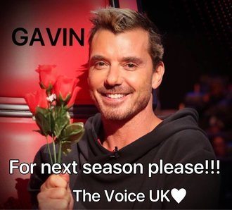 Gavin Rossdale back on The Voice