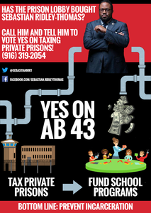 VOTE YES TO TAX PRIVATE PRISONS