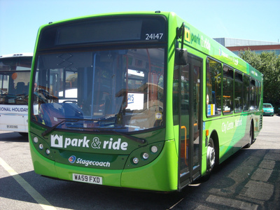 Cut traffic pollution with a Park and Ride