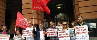 Hands Off Our Libraries!