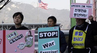 Petition for a moratorium regarding joint US/South Korea war exercises
