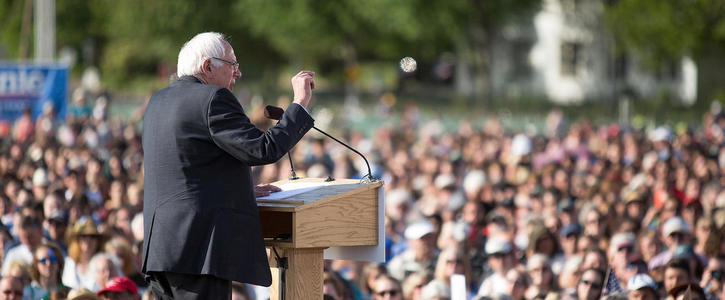 Petition to persuade Bernie Sanders to give public speech in Dublin on June 4th/5th