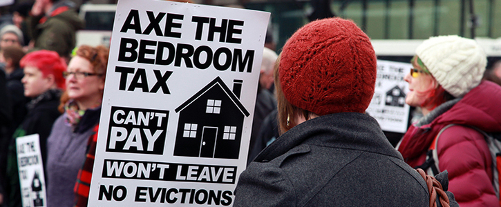 Image result for bedroom tax