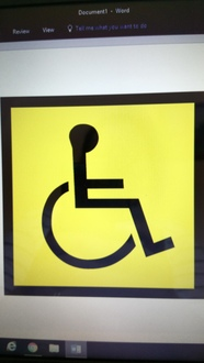 Change the disabled logo