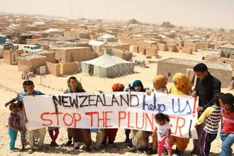 Halt all New Zealand imports of phosphate from occupied Western Sahara