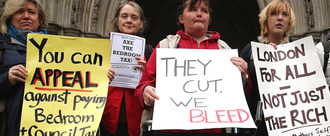 Get rid of the 'Bedroom Tax' cut to Housing Benefits!
