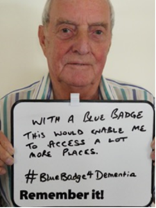 Blue Badges 4 Dementia