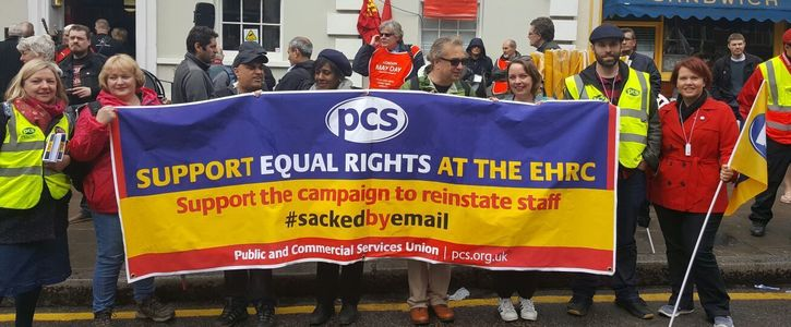 Reinstate the 8 Human Rights workers sacked by e-mail