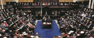 Keep Equal Speaking Rights for all Parties in the Dáil