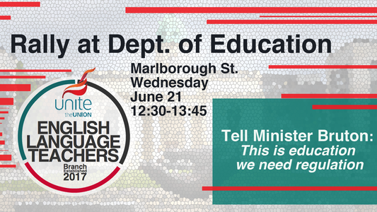 Tell Minister Bruton- Education needs regulation