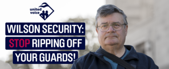 Tell Wilson to stop ripping off their security guards