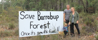 Save Barrabup Forest....once it's gone, it's gone!
