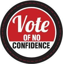 Vote of No confidence in the Conservative Government.