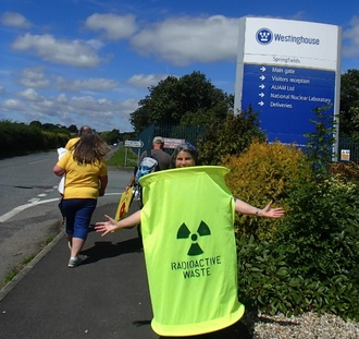 Stop Fossil Fuel Extraction Near Nuclear Installations
