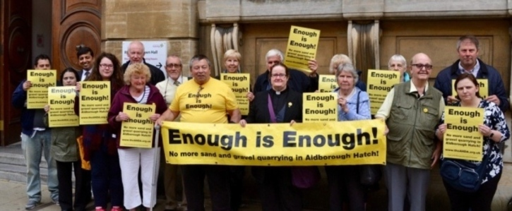 STOP Aldborough Hatch Gravel Extraction #EnoughisEnough