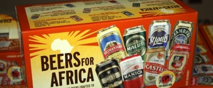 STOP THE MARKETING OF ALCOHOL IN THE NAME OF HUNGER IN AFRICA