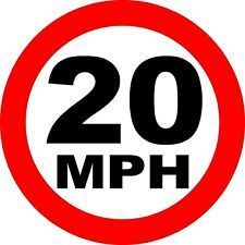 Change Taffs Well to a well enforced 20mph speed limit throughout