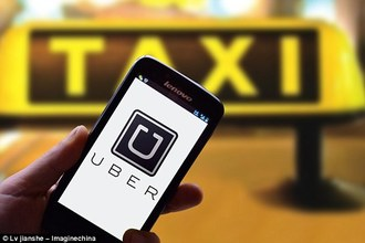 Inform uber drivers where they are going before accepting job