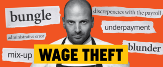 Make wage theft a crime.