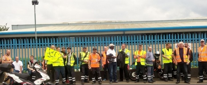 Support Birmingham's Fleet and Waste workers strike