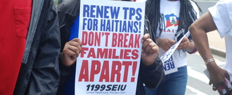Extend Temporary Protected Status for Haitians Impacted by 2010 Haiti Earthquake