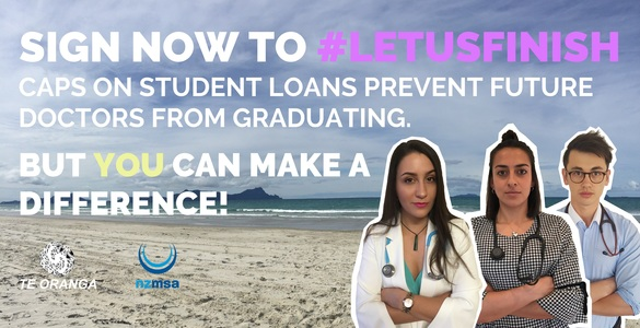 Let Us Finish! Remove student loan cap for future doctors
