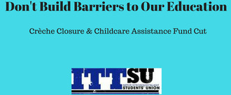 Stop Childcare Facilities For Students Closing At IT Tallaght