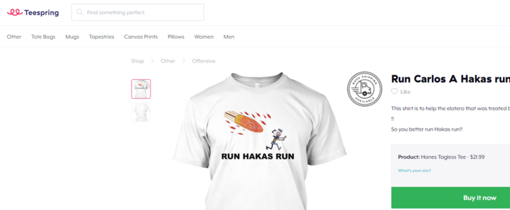 Tell Teespring to stop stealing Lalo Alcaraz' work