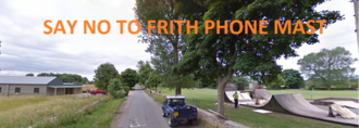 SAY NO to a Phone Mast at Frith Youth Centre,  Nr Bussage Children's Playground and Skate Park