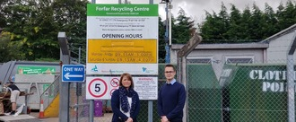 Stop the closure of the Forfar and Kirriemuir recycling centres.