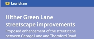 Support Hither Green Lane - Streetscape Improvements