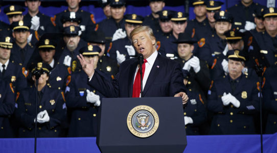 Tell police unions: stop defending Trump for encouraging police brutality.