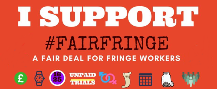 Fringe employers sign up to the Fair Hospitality Charter