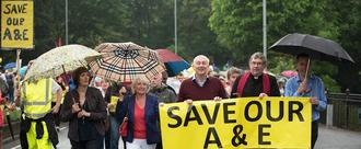 Stop massive parking charges  at Chorley Hospital