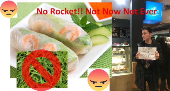 STOP GRAFALI'S PUTTING ROCKET IN THEIR RICE PAPER ROLLS