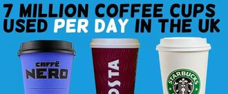 Compulsory 10p charge for disposable coffee cups