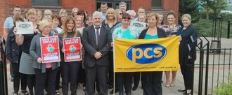 Save Coatbridge DWP office