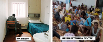 Improve the conditions for EU-bound migrants in Libyan 'detention' centres