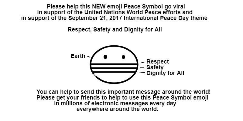 A new emoji peace symbol for World Peace is needed | RootsAction