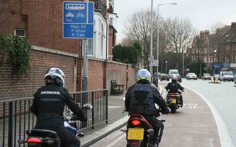 Open Rotherham Bus Lanes to Motorcyclists